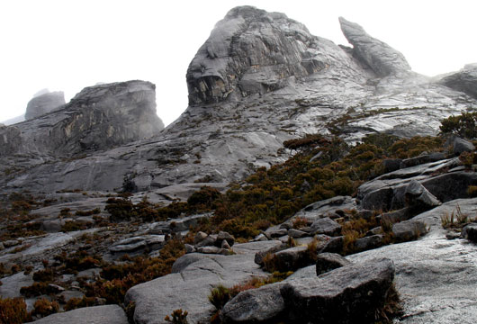 Amazing landscape of Mt Kinabalu in Sabah, Malaysia