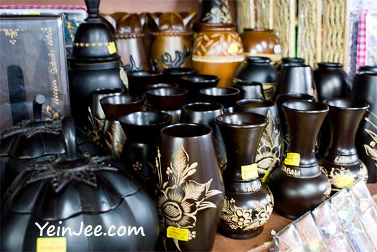 Vases at Filipino Market, Kota Kinabalu, Malaysia