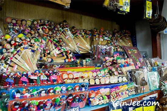 Souvenirs at Filipino Market, Kota Kinabalu, Malaysia