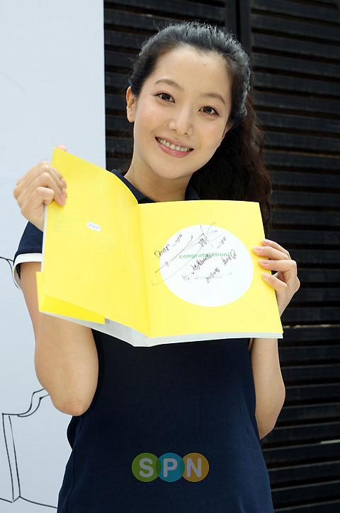 Korean actress Kim Hee-sun in Seoul