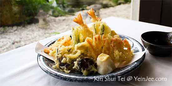 Tempura at Kin Shui Tei Japanese Restaurant, Tropicana
