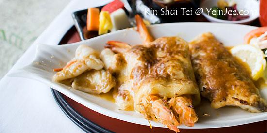 Teppan seafood at Kin Shui Tei Japanese Restaurant, Tropicana