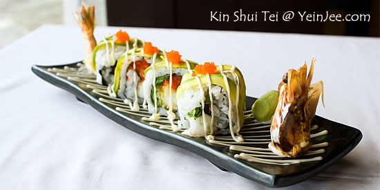 King roll at Kin Shui Tei Japanese Restaurant, Tropicana
