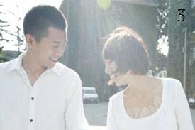 Chinese celebrity couple Yu Quan and Xia Yu