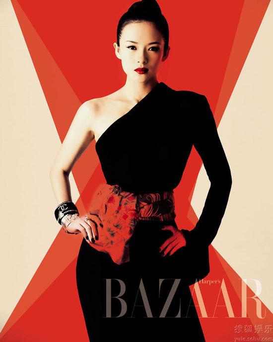 Zhang Ziyi Harpers Bazaar Magazine