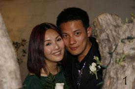 Hong Kong star Miriam Yeung and husband Real Ding