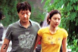 Hong Kong celebrity couple Gaile Lok and Leon Lai