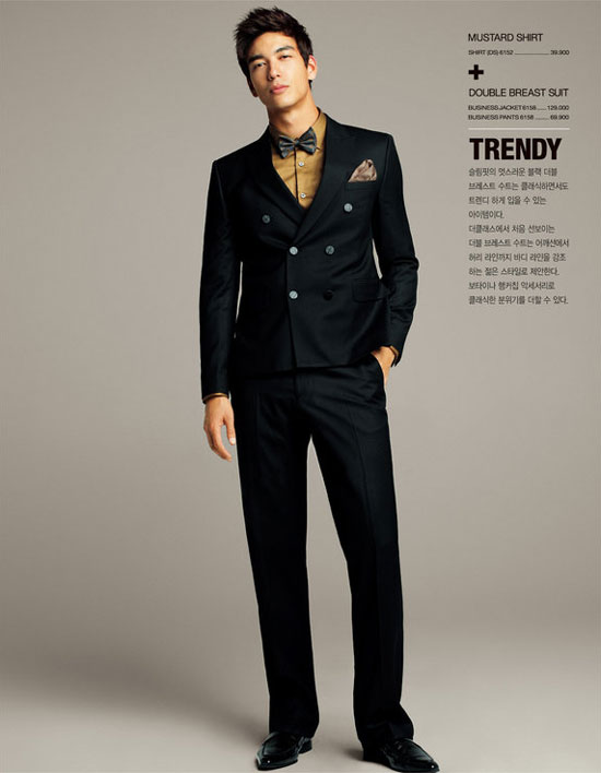Korean-American actor model Dennis Oh for the class fashion