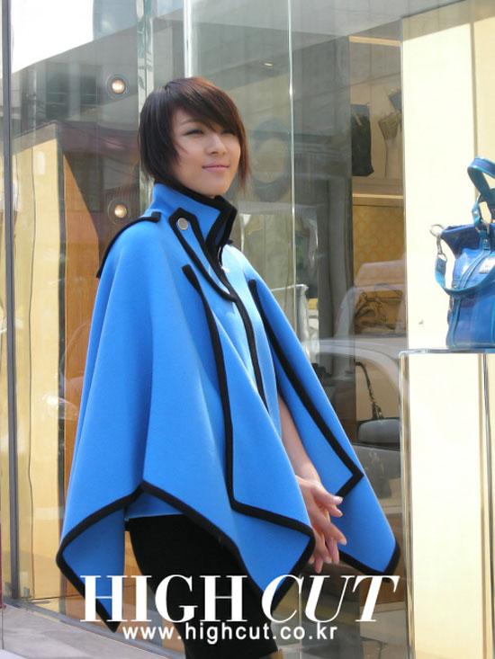 Korean actress Ha Ji-won on High Cut magazine