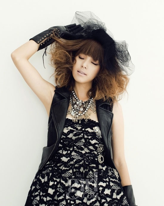 Han Hyo-joo on Vogue Girl magazine