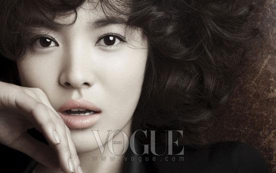 Korean actress Song Hye-kyo on Vogue Korea