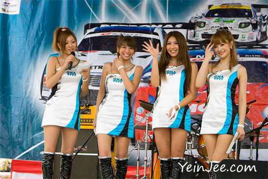 GMA Kondo Japanese Race Queens at Super GT Malaysia 2009