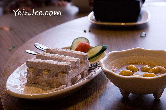 Yam dessert at Chao Yen Teochew restaurant at Sunway Pyramid, Bandar Sunway