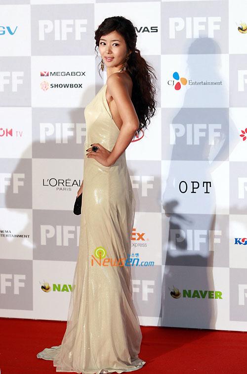 Park Sol-mi at Pusan International Film Festival 2009