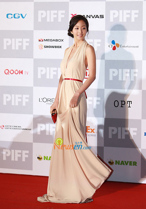 Han Ye-seul at Pusan International Film Festival 2009