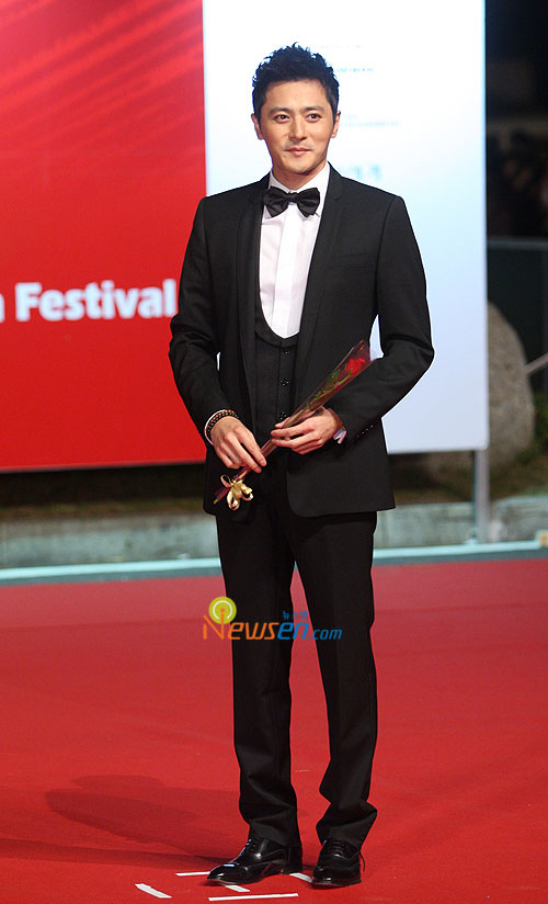 Jang Dong-gun at Pusan International Film Festival 2009