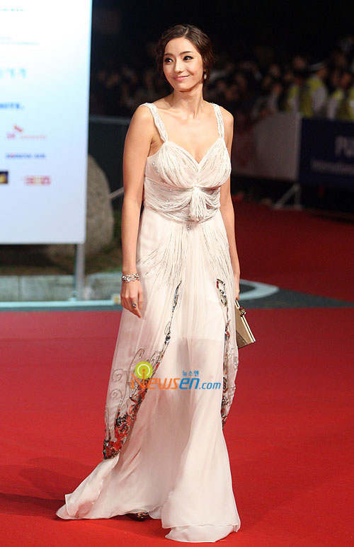 Han Chae-young at Pusan International Film Festival 2009