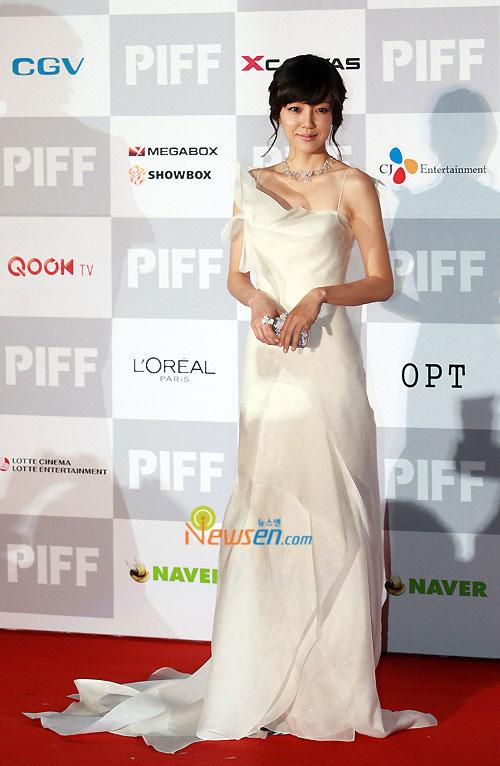 Im Soo-jung at Pusan International Film Festival 2009
