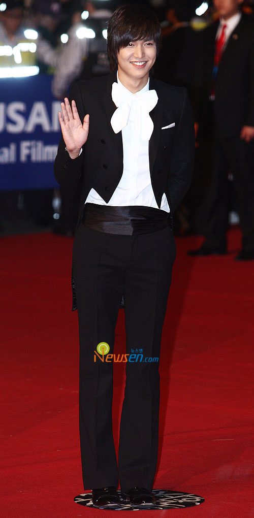 Lee Min-ho at Pusan International Film Festival 2009