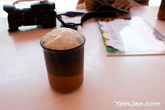 Teh Tarik milk tea at Oriental Village, Langkawi, Malaysia