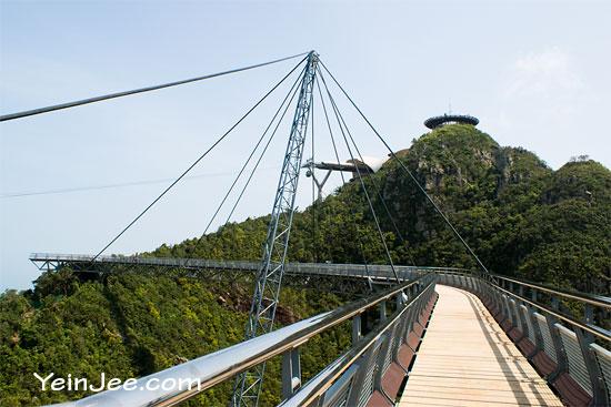 Mount Mat Cincang Sky Bridge in Langkawi, Malaysia