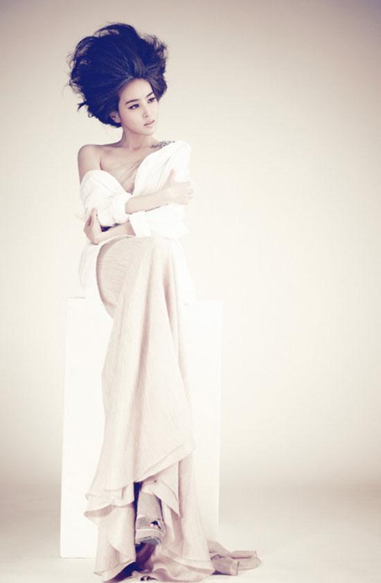 Han Hye-jin on Sure magazine
