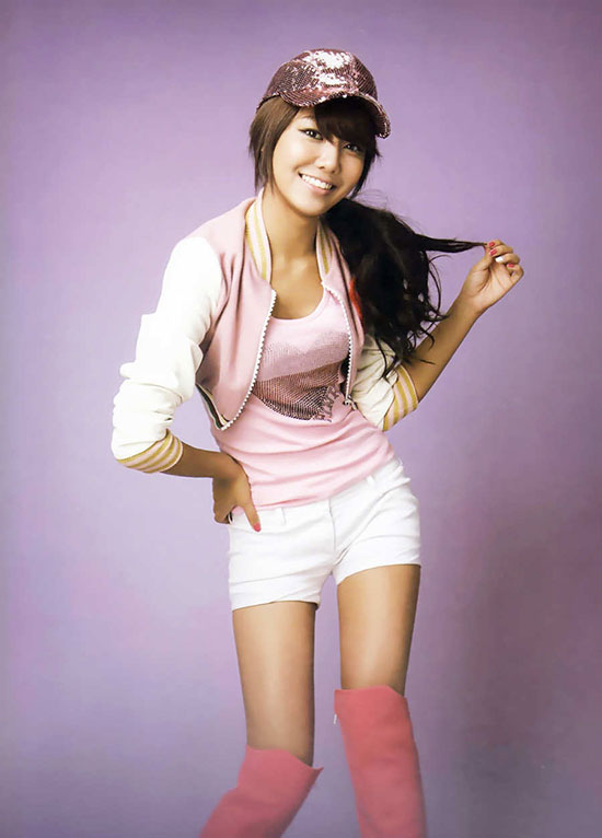 Sooyoung of Korean pop group Girls Generation