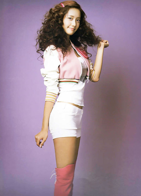 Yoona of Korean pop group Girls Generation