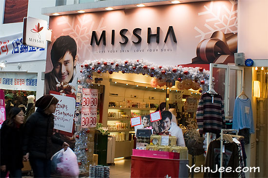 Misha in Myeongdong, Seoul