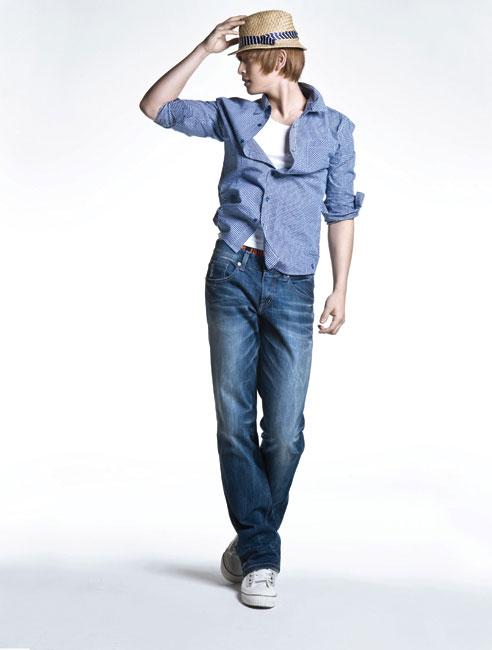 2AM Jinwoon for Jambangee denim