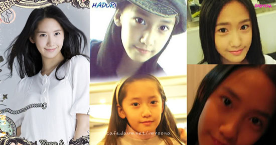 SNSD Yoona before and after