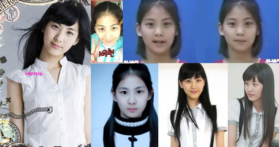 SNSD Girls Generation Seohyun before and after