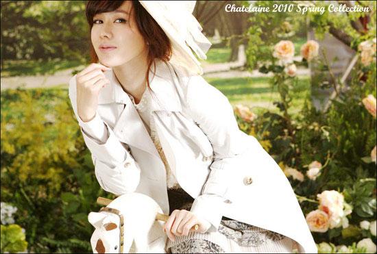 Son Ye-jin for Chatelaine fashion