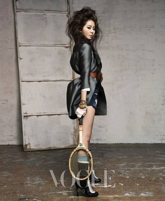 After School Uee for Vogue magazine