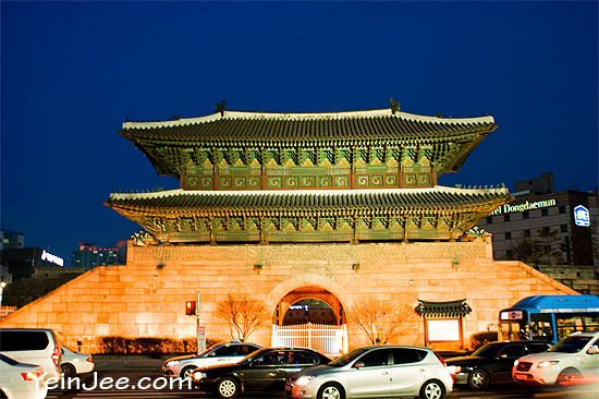 Dongdaemun historical gate, Seoul
