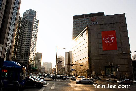 Random street view in Seoul