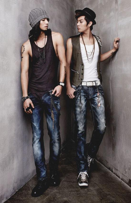 B2ST Doojoon Buckaroo Jeans