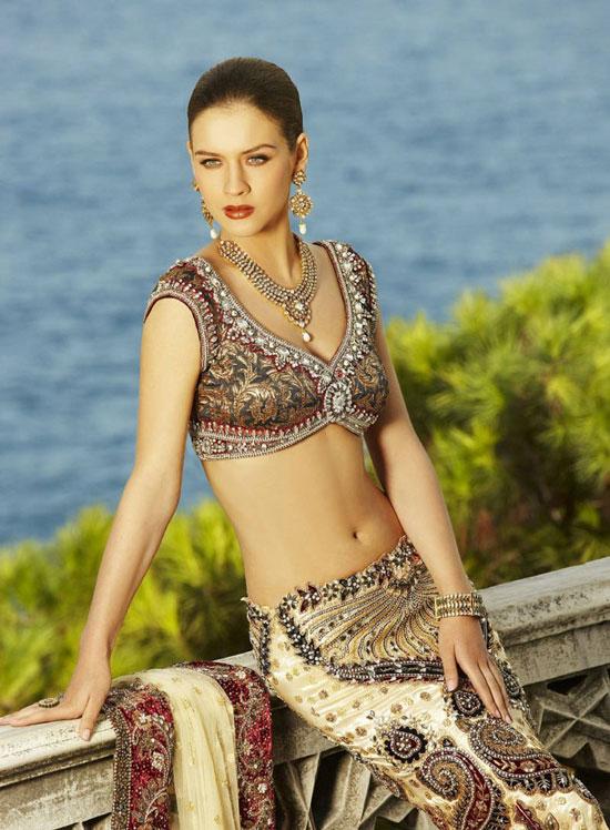 Russian model Maria Sokolovski Seasons India