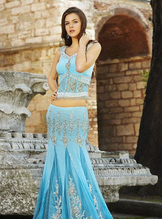 British model Maria Sokolovski Seasons India