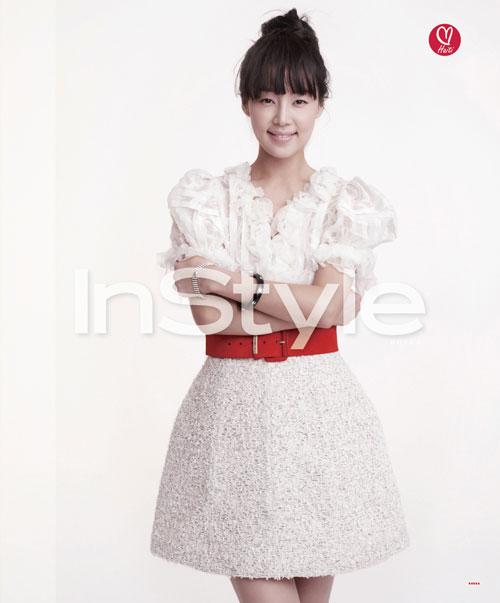 Han Ji-hye Instyle for Haiti