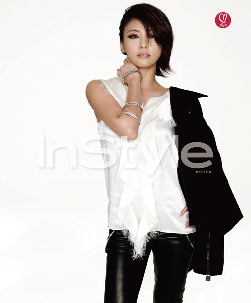 Ha Ji-won Instyle for Haiti