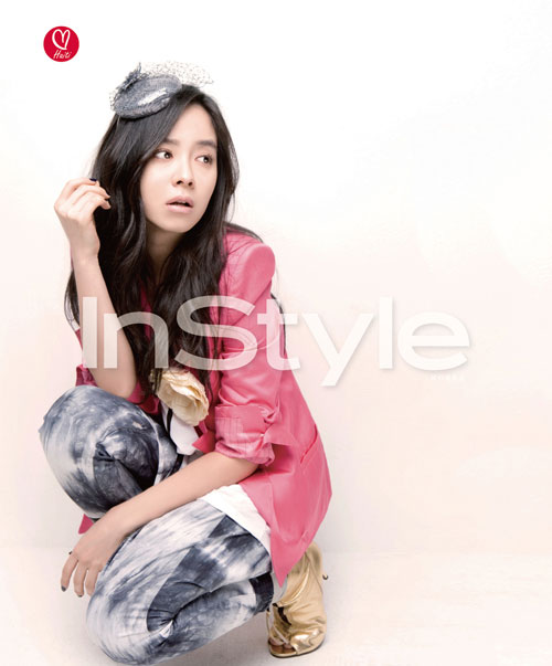Song Ji-hyo Instyle for Haiti