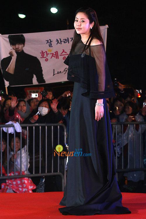 Ko Hyeon-jeong at 2010 Baeksang Awards in Seoul
