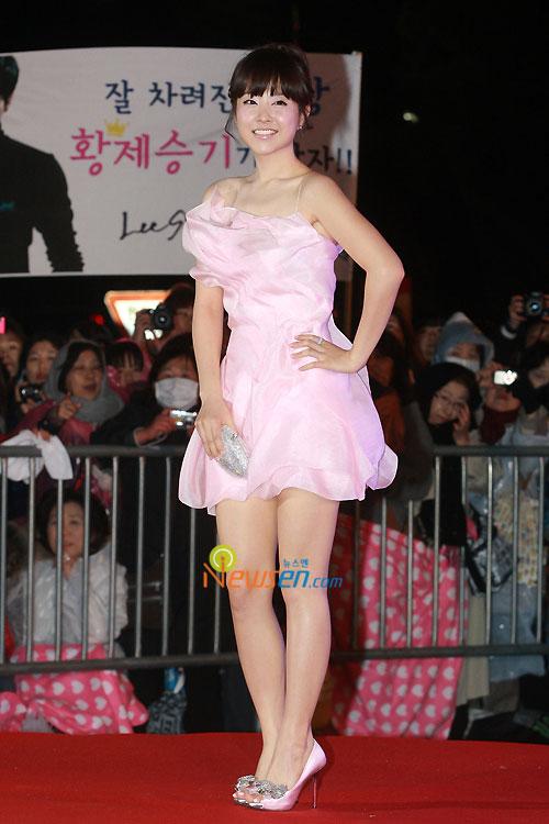 Park Bo-young at 2010 Baeksang Awards in Seoul