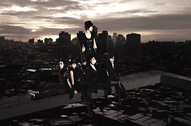 Korean girl group Kara Lupin Korean album photo