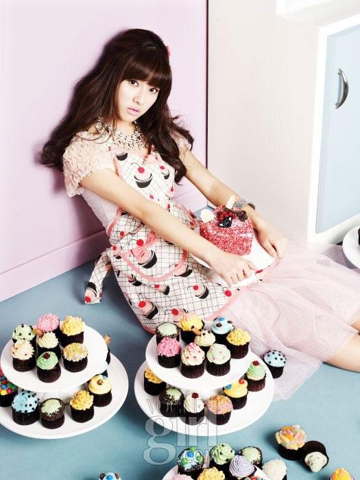 Korean actress Kim So-eun for Vogue Girl Ping Wings Campaign