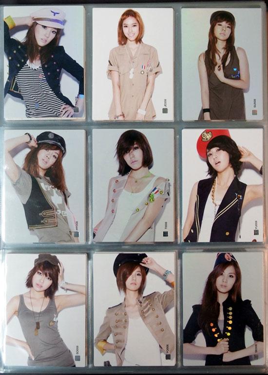 Girls Generation Star Card