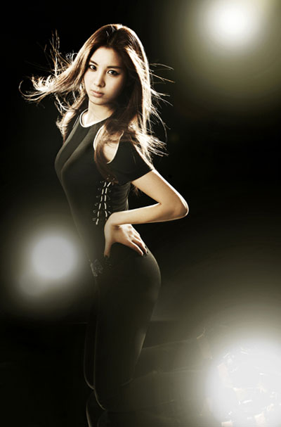 Girls Generation Seohyun black soshi photo