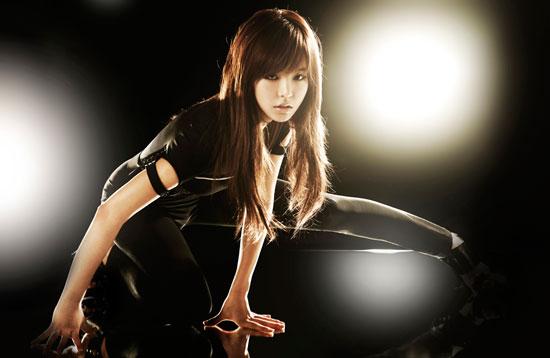 Girls Generation Sunny black soshi photo