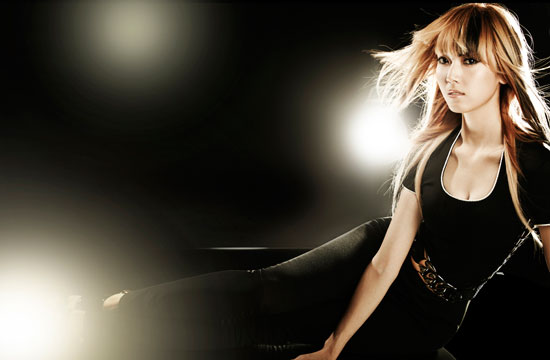 Girls Generation Jessica black soshi photo